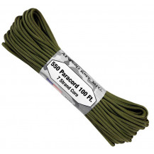 Atwood 550 Paracord 100ft 7 Strand Core - Olive