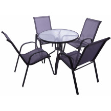 Seagull 5-Piece Steel Patio Set