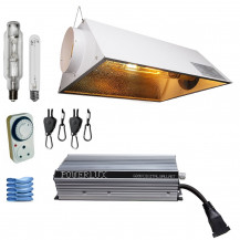 "Air Cooled Electronic Grow Light Combo - Powerlux 600W,150mm (6"")"