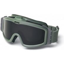 ESS Profile Turbo Fan Ballistic Goggles - Foliage Green Frame, Smokey Grey Lens
