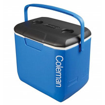 Coleman Performance 30QT Cool Box  - Blue, White, Dark Gray