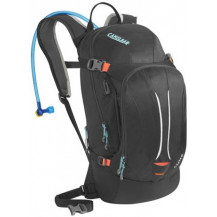 CamelBak L.U.X.E. 3L Hydration Pack (Charcoal  Fiery Coral)