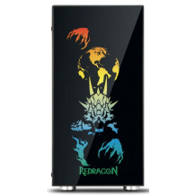 Redragon Steeljaw Pro RGB Tempered Glass Gaming Chassis