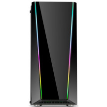 Redragon Tailgate RGB Tempered Glass Gaming Chassis