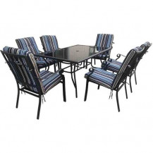Seagull 7-Piece Aluminium Patio Set