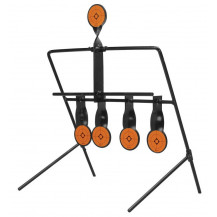 Caldwell Airgun Resetting Target - Black