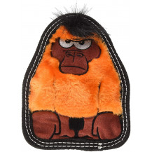 Outward hound Invincibles Tough Seamz Gorilla Dog Toy - Small