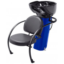 Ace Backwash Chair with Adjustable Backrest - Blue