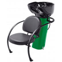 Ace Backwash Chair with Adjustable Backrest - Green