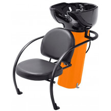 Ace Backwash Chair with Adjustable Backrest - Orange