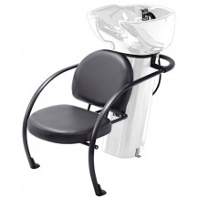 Ace Backwash Chair with Adjustable Backrest - White