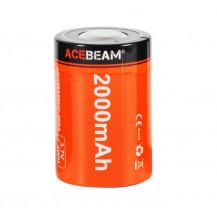 Acebeam 26350 2000mAh Rechargeable Li-ion Battery