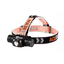 Acebeam H30 Headlamp - 4000 Lumens, Red + UV