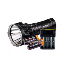 Acebeam K70 Flashlight + Nitecore i4 Charger + Batteries