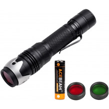 Acebeam W10 Flashlight Combo - 250 Lumens / 1000m