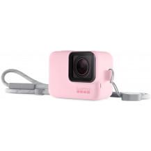 GoPro Sleeve & Lanyard - Pink