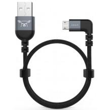 Adam Elements Peak II FLEET B30B Micro USB - 30cm, Grey