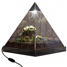 AE Automated Terrarium Pyramid - Large, Black
