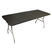 Afritrail Anywhere 180cm Bifold Table - Granite Black - PICTURE ONLY FOR REFERENCE, PRODUCT IS BLACK