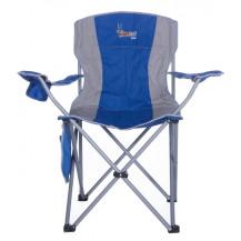 Afritrail Kudu Padded Folding Chair - 120 kg, Blue