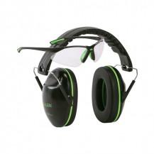 Allen Gamma Junior Ear Muff and Glasses Set - Green - main