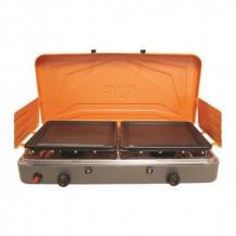 Alva Gas Stove w/ Solid Plates - 2 Burner