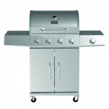 Alva Kalahari Stainless Steel Gas BBQ - 4 Burner