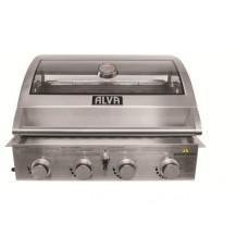 Alva Mojave Built-in Gas BBQ - 4 Burner, Stainless Steel