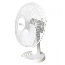 Alva Plastic Desk Fan - 30cm, White