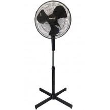 Alva Plastic Pedestal Fan - 40cm, Black