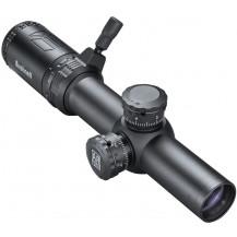 Bushnell AR Optics 1-4x24 Riflescope - Drop Zone-223 (SFP) Reticle, Black - Front angle