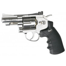 "ASG Dan Wesson 2.5"" Chrome Airpistol 4.5mm"