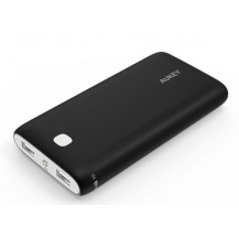 Aukey Pocket 20000mAh Dual USB Power Bank - 3.1A