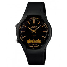 Casio Retro AW-90H Watch (Orange)