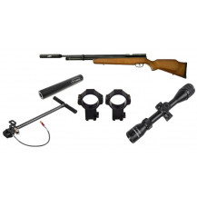 B57 Venom PCP Air Rifle Combo - 5.5mm