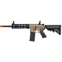 """Tippmann Commando AEG Carbine Airgun - 14.5"""", Tan - Left side"""