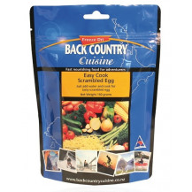 Back Country Cuisine Easy Cook Scrambled Egg Freeze Dried Meal Complements