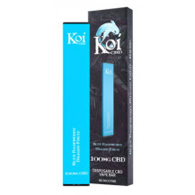 Koi CBD Disposable Vape Bar - Blue Raspberry Dragon Fruit,100 mg, Box Of 10