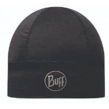 Buff 1 Layer Coolmax Hat - Solid Black