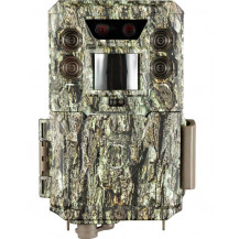 Bushnell Core DS Trail Camera - 30MP, Low Glow, Treebark Camo - Front View