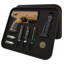 Byrna HD Ready Pepper Pistol Kit - Tan
