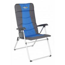 Oztrail Cascade 5 Position Arm Chair - Blue