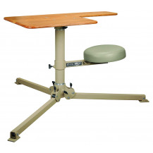 Caldwell BR Pivot with Butcher Block Top