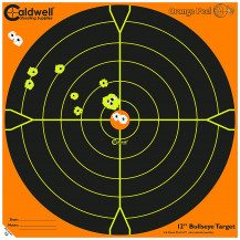 Caldwell Orange Peel Bulls eye Targets - 10 per pack, 8""