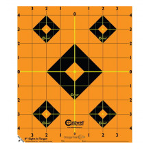 Caldwell Orange Peel Sight-In Target - 8 Inches, 5 Pack