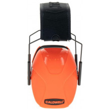 Caldwell Youth Passive Earmuff - Hot Coral Front View