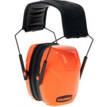 Caldwell Youth Passive Earmuff - Hot Coral Side View