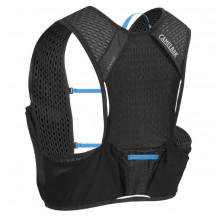 CamelBak Nano Vest 1L Hydration Pack - Black/Atomic Blue - Small