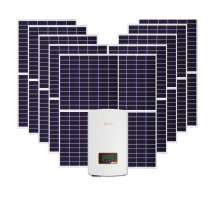 Canadian Solar Poly Kupower Half-Cell 305W + Solis 5G Dual MPPT Inverter - 4.6Kw