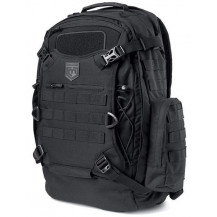 Cannae Pro Gear Phalanx Full Size Duty Pack With Helmet Carry - Black - Front View